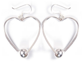 Verra Love is All I want Sterling Silver Earrings