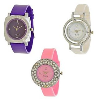 f43b85c70 Buy Glory Analog Women Watches Combo (Pack Of 3pc)by 7Star Online - Get 61%  Off