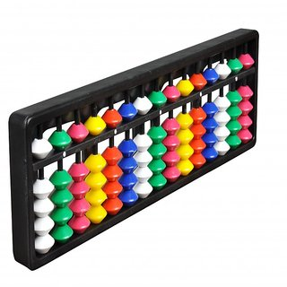 Abica Abacus math learning kit for kids 15 rod multi color ( pack of 1 )