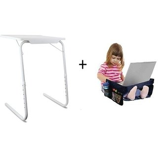 IBS Table Mate Adjustable Folding Study LaptopKids Reading Snacks Play N Snack Travel Organiser Tray White Changing Tabl