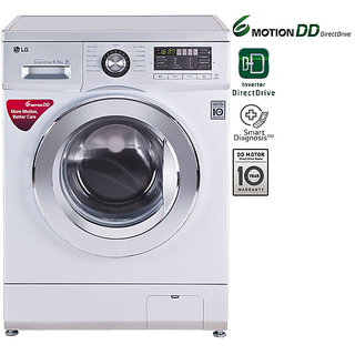 LG 6.5 Kg Front Load Fully Automatic Washing Machine -...
