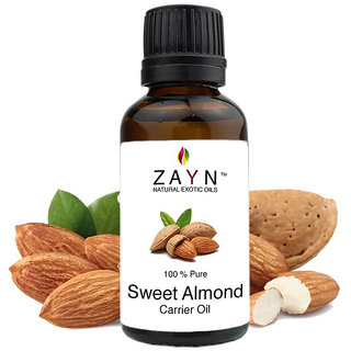 Almond oil - 50 ML - Exceptional Natural oil for Body Massage and skin care