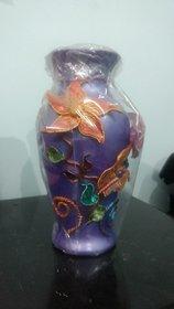 Handcrafted Blue Pottery Flower Vase pot