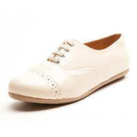 Marc Loire Women's Cream Smart Casuals Shoes