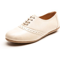 Marc Loire Women's Cream Smart Casuals Shoes - 113618591
