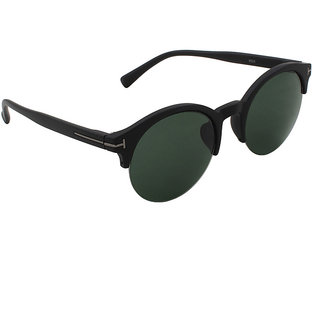 6by6 Green UV Protection Unisex Round Sunglass