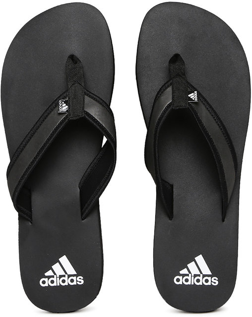 d769aad0afc5 Adidas Men Black Adi Rio Attack Flip-Flops Slippers