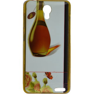 new concept f09a1 ae9af eloMo Soft Rubber Back Cover Cases for Micromax Vdeo 2 Q4101