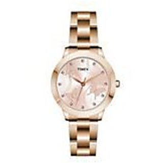 Timex TW000T610 Fashion Analog Brown Dial Women's Watch (TW000T610)