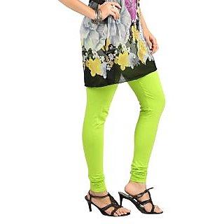 Juliets Cotton Leggings Lime
