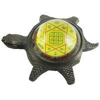 Yantra / Vastu / Fang Shui / Shree Laxmi Yantra On Tortoise For Wealth.