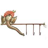 Craftter Ganesh Key Hanger (Set Of 02)