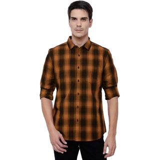 BL Check Poly-Cotton Shirt For Men