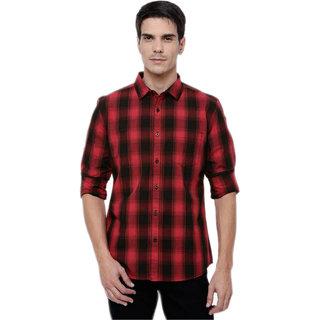 BL Check Men's Poly-Cotton Shirt