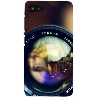 3D Designer Back Cover For Lenovo Zuk Z2 :: Shadow In Camera Lens :: Lenovo Zuk Z2 Designer Hard Plastic Case (Eagle-122)