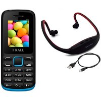 IKall K11 With MP3 FM Player Neckband  (No Earphones)