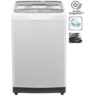 LG T7577TEEL 6.5 KG Top Load Fully Automatic Washing Machine...