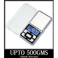 Kudos Digital Display Mini Pocket Weight Scale Weighing Machine 500gms + Warranty