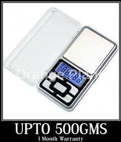 Kudos Digital Display Mini Pocket Weight Scale Weighing Machine 500gms + Warranty