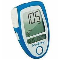 Accusure Meter Blood Glucose Monitor