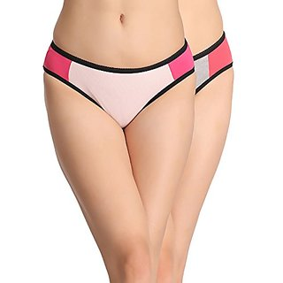 Clovia Pack Of 2 Mid Waist Bikini