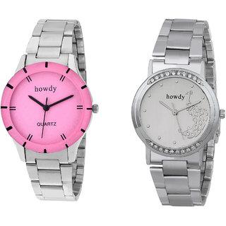 Howdy Beautiful Combo Of Analog Wrist Watch