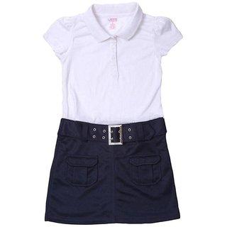 Girls School Uniforms Belted  Dress