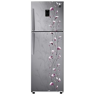 Samsung RT28K3953SZ/HL/NL Frost Free Freezer-on-Top Free-Standing Refrigerator (253 Ltrs, 3 Star Rating, Tender Lily Silver)