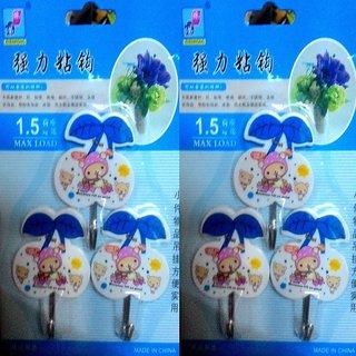 Plastic Multipurpose Hooks Pack of 6