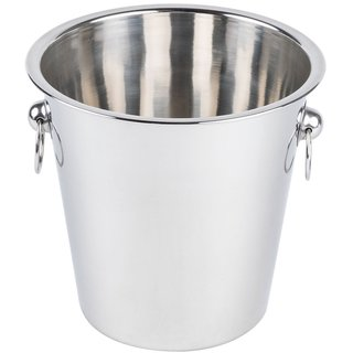 Wine, ice bucket...