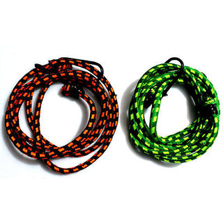 Stretchable Rope for Bike Multipurpose Elastic Rope Assorted Color - Buy 2 Get 2 FREE