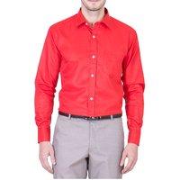 Cotton Polyester Blend Formal Shirt