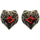 Red Earring With Zinc Alloy - TPER-304