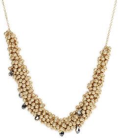 Golden Necklace with Zinc Alloy - TPNW13-203