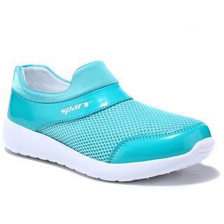 SX0089 Sparx Women Shoe (SX-0089 Sea Green White)
