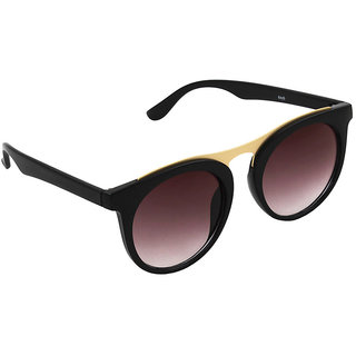 6by6 Purple UV Protection Unisex Round Sunglass