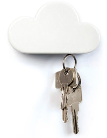 Cloud Shape Magnetic Key Holder Home Shelves Magnets Key Holder Wall Shelf