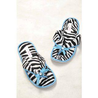 Hi Fashion Blue Cotton Flip Flops Diomand With Soft Touch...