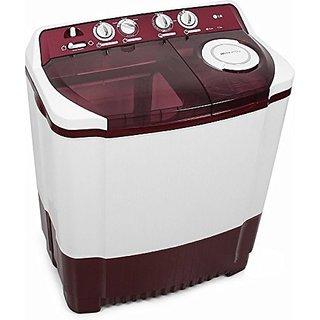 LG 6.8 Kg P7853R3S Top Loading Washing Machine (Burgundy)