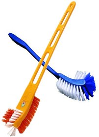 Toilet Cleaning Brush - Two sided - Good Quality - Buy 1 Get 1 FREE