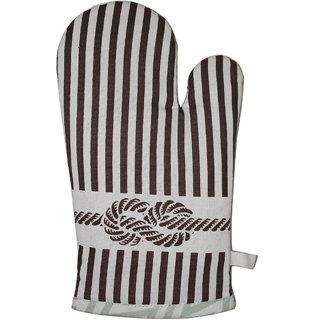 Airwill, 100 Cotton Designer Kitchen Linen Sets of Glove (Mittens) Pack of 1 Pcs