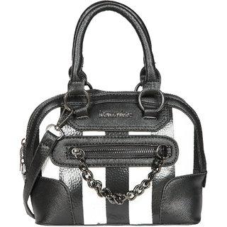 Black PU Sling Bag