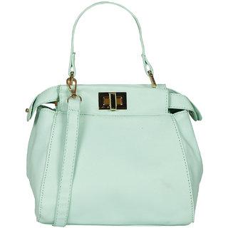 Green PU Sling Bag