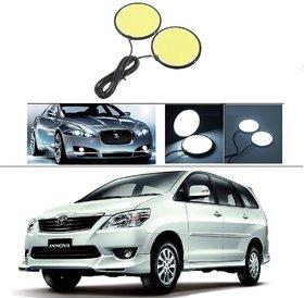 AutoStark Car DRL LED COB Daytime Running Light Fog Lamp 70mm 2.75