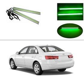AutoStark Daytime Running Lights Cob LED DRL (Green)- Hyundai Sonata Embera