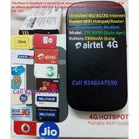 ALL GSM SIMS.JIO Also.Unlocked MF90 4G(SupportBoth TDDFDD)/3G/2G WiFi MiFi Hotspot/Router/Dongle/Modem/Internet.2300mAh