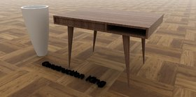 Modern Style Rectangular Table