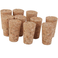 Magideal 10pcs Tapered Corks Stoppers DIY Craft Art Model Building 21.5mm x14mm x22mm