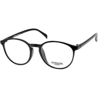 Cardon Black Round Full Rim EyeFrame
