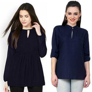 buy indicot women wear casual formal regular tops tunics